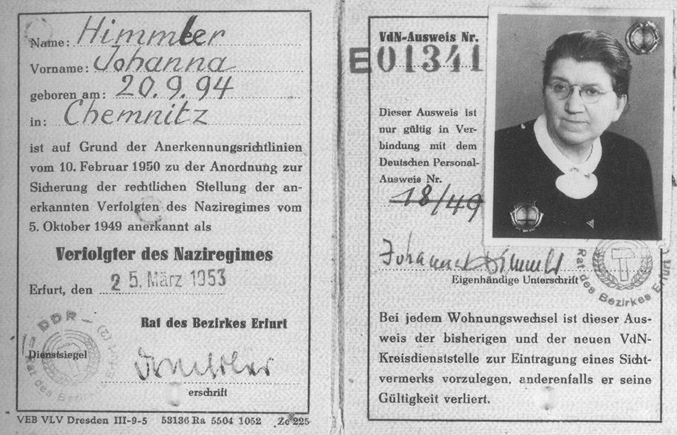 Datei:Ausweis Johanna Himmler 1953.jpg – NordhausenWiki