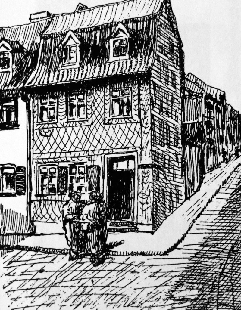 Dr Heinrich Nordhausen datei judenhaus hüterstraße nordhausen jpg nordhausenwiki